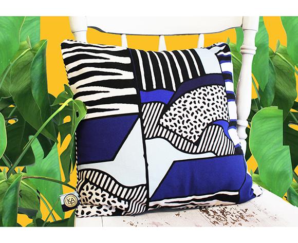Kelly Anna - Graphic Cushion 01