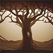papercut 35x50 Winter Tree