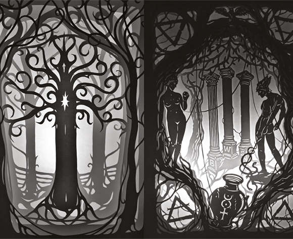 papercut 35x50 Iron Tree