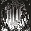 papercut 35x50 Iron Tree