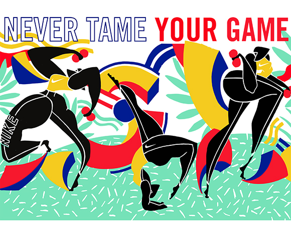 "Kelly Anna - Nike ""Never Tame Your Game"""