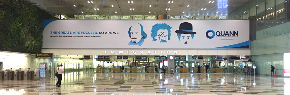 Grey Singapore commissions Machas to create bold images for CISCO's security brand QUANN