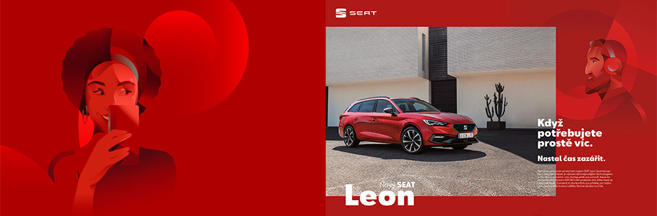 Ray Oranges collaborates with SEAT on the new Leon global launch campaign.