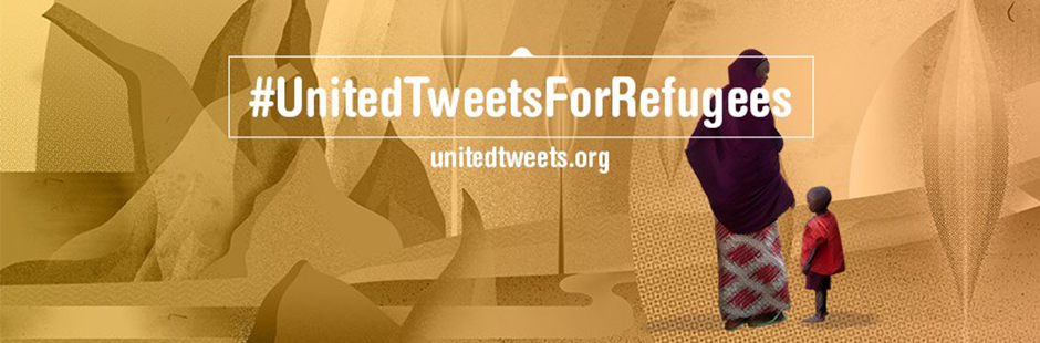 Tooco contributes with a stunning new illustration for #UnitedTweetsForRefugees...